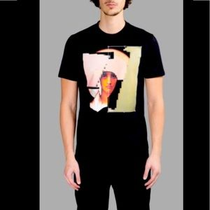 Givenchy Madonna Pixel Print T Shirt